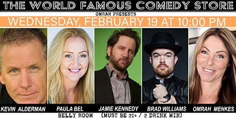 Jamie Kennedy, Brad Williams, Paula Bel & more @The Comedy Store tickets
