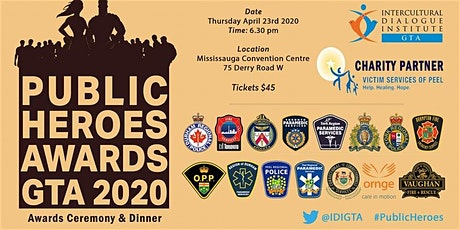 PUBLIC HEROES GTA 2020 AWARDS CEREMONY tickets