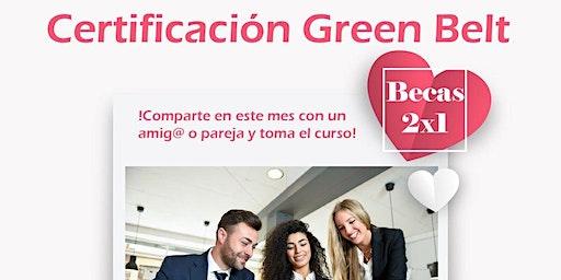 Certificación Six Sigma Yellow Belt + Green Belt