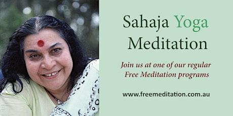 Free Meditation - Sahaja Yoga @ Jetty Baths Beach tickets