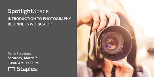 Introduction to Photography- Beginners Workshop
