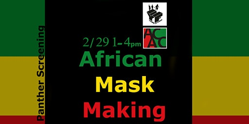 Young Futures African Mask Making Class