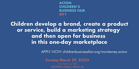 Acton Children's Business Fair MTY entradas