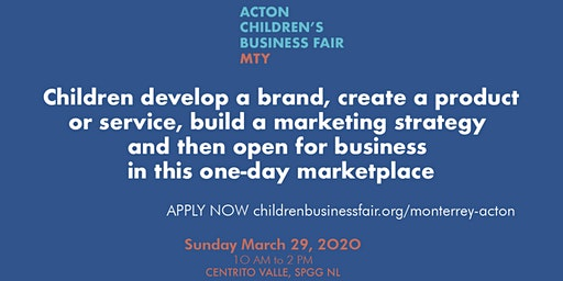 Acton Children's Business Fair MTY