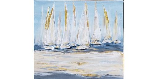 "4/15 - Corks and Canvas Event @ Bluewater Distilling, Everett ""Sailboat Regatta"""