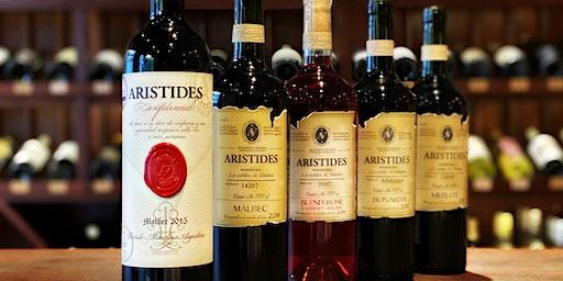 Arístides Wines. Premium tasting