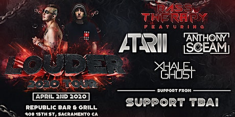 Bass Therapy Louder Tour w/ Atarii, Anthony Sceam, Xhale Ghost & More! tickets