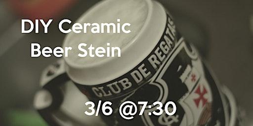 DIY Ceramic Beer Stein