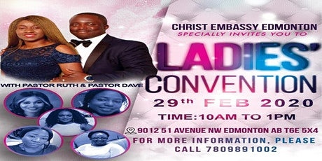 Ladies' Convention with Pastor Ruth & Pastor Dave tickets