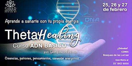 Curso ThetaHealing | ADN Básico - Febrero CDMX entradas