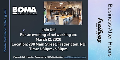 BOMA NB/PEI Business After Hours tickets
