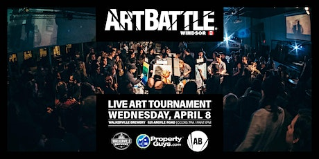 Art Battle Windsor - April 8, 2020 tickets