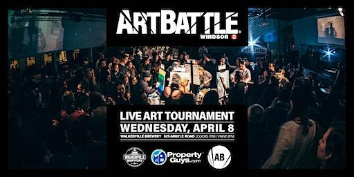 Art Battle Windsor - April 8, 2020