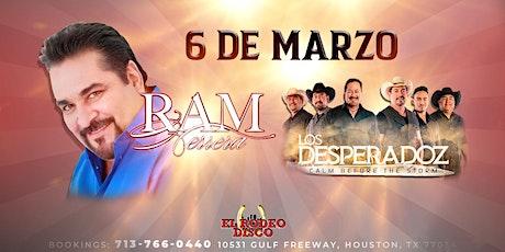 Ram Herrera & Desperadoz en El Rodeo Disco tickets