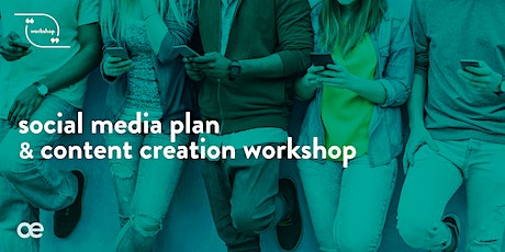 Social Media Plan & Content Creation Workshop - 1st April 2020 tickets