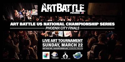 Art Battle Phoenix City Finals! - March 22, 2020