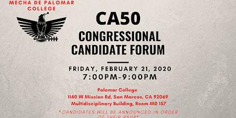 CA50 Candidate Forum tickets