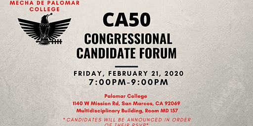CA50 Candidate Forum
