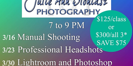 Portrait Photography, with Instructor Julie Ann Bloniasz