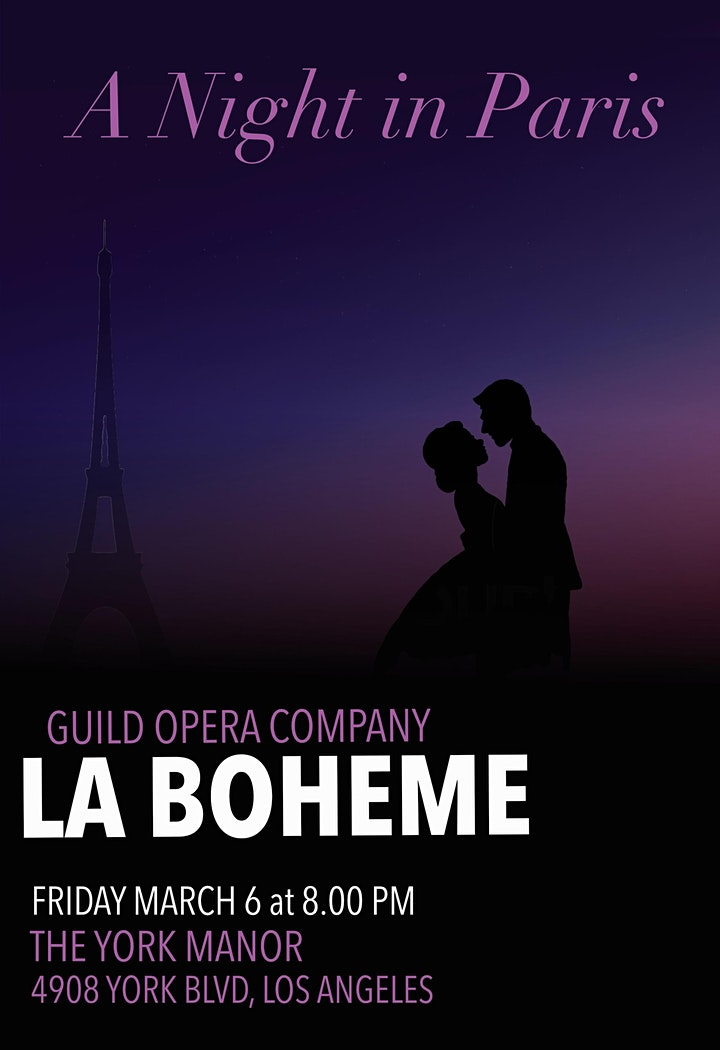 La Bohème at the YORK MANOR image