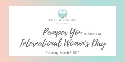 Pamper You: Open House in honour of International Women's Day