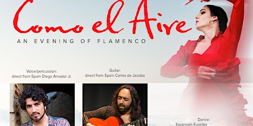 Como el Aire, an evening of Flamenco Eugene