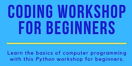 Coding Workshop for Beginners