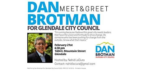 Meet & Greet Dan Brotman tickets