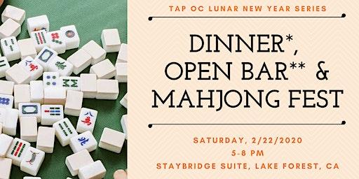Dinner Buffet, Open Bar & Mahjong Fest - TAP OC