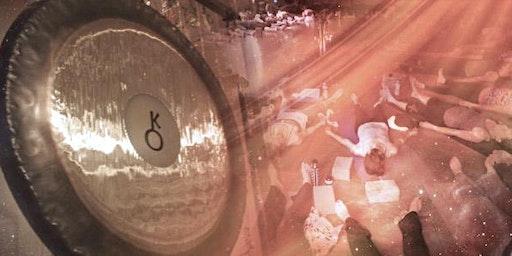 Sound Healing Gong Bath Fundraiser