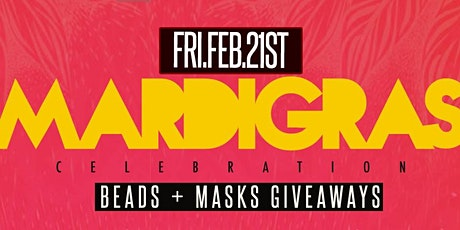 Mardi Gras This Friday hosted by ZanMan at Haven Lounge tickets