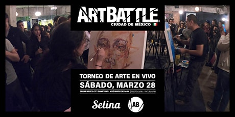 Art Battle Ciudad de México - 28 de marzo, 2020 boletos