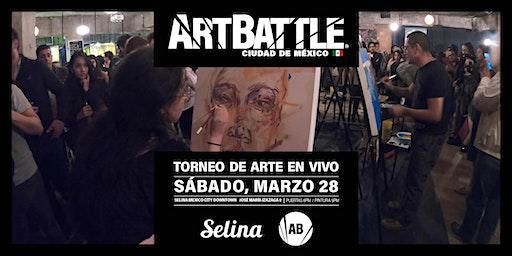 Art Battle Ciudad de México - 28 de marzo, 2020