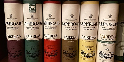 Blind Tasting of 6 years of Laphroaig Cairdeas