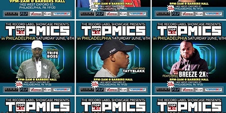 TOPMICS  PRESENTS: THE RECORD LABEL SHOWCASE tickets