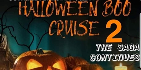Halloween Moonlight Boo Cruise 2 tickets