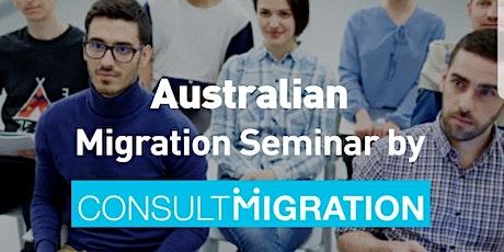 Migration Seminar tickets