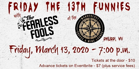 Friday the 13th Funnies featuring The Fearless Fools tickets