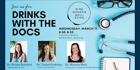 Drinks With the Docs: Edmonton tickets