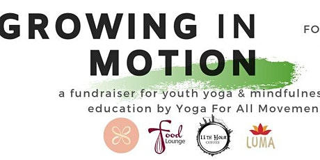 Growing in Motion: A Fundraiser for YFAM with 11th Hour Coffee tickets