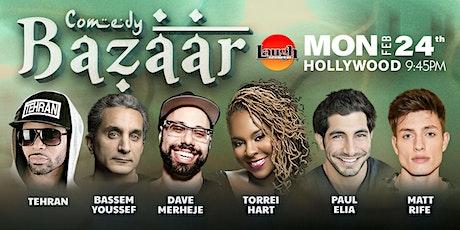 Bassem Yousseff, Matt Rife, and more - Comedy Bazaar tickets