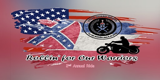 2nd Annual Rollin' for Our Warriors Benefit Ride