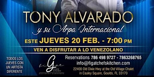 Tony Alvarado y su Arpa Internacional