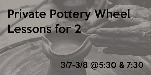 Private Couples Pottery Wheel Throwing Lesson