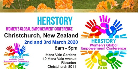 HerStory Women's Global Empowerment Conference Speaker Registration - Christchurch, New Zealand tickets