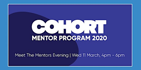 Cohort - Meet The Mentors Evening tickets