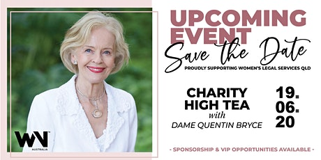QLD |Charity High Tea with Dame Quentin Bryce tickets