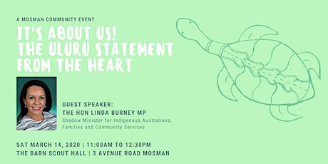 It's about us! The Uluru statement from the heart tickets