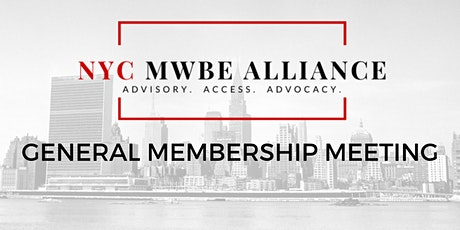 NYC MWBE Alliance General Meeting February 2020 tickets