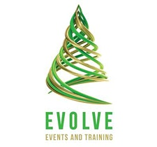 Evolve Events and Training logo